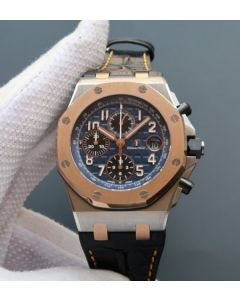 Audemars Piguet JF Royal Oak Offshore RG Bezel Blue Dial A3126