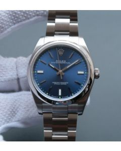Rolex Oyster Perpetual 39mm 114300 Blue Dial on SS Bracelet SH3132