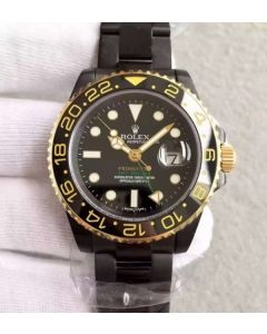 Rolex GMT-Master II 116713 Black Dial ProHunter SS Bracelet A2836
