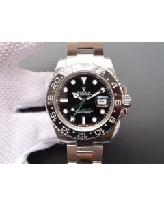 Rolex GMT-Master II 116710 LN Black Ceramic Noob A3186