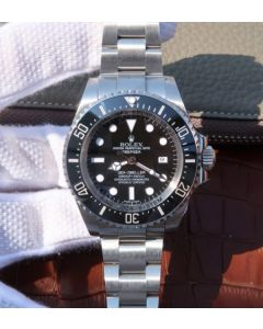 Rolex Sea-Dweller DEEPSEA 116660 Black Ceramic Noob V7 SA3135