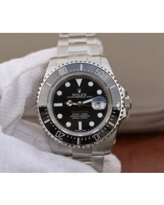 Rolex Sea-Dweller DEEPSEA 116660 Black Ceramic Noob A2836
