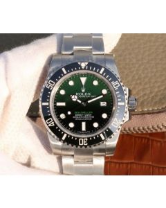 Rolex Sea-Dweller DEEPSEA 116660 D-Green Noob A2836