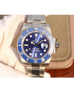 Rolex Submariner 116619 LB Blue Ceramic V7 Noob Best Edition A2836