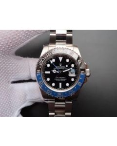Rolex GMT-Master II 116710 BLNR Black/Blue Ceramic Noob A3186