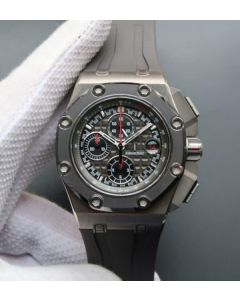 Audemars Piguet JF Royal Oak Offshore Titanium Michael Schumacher Gray Dial A3126